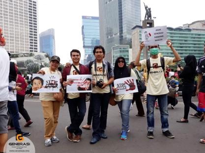 Aksi Perlindungan Anak GENERASI 8