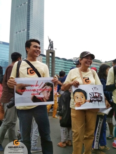 Aksi Perlindungan Anak GENERASI 9